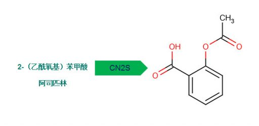 Chinese chemical name converted into structure